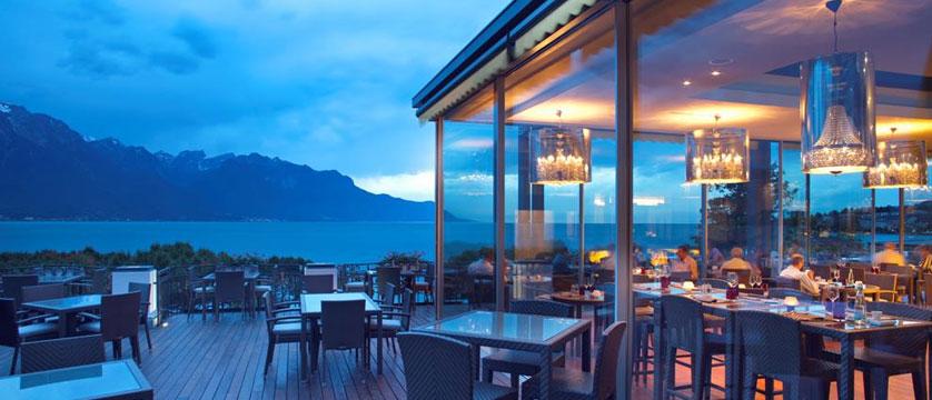 Hotel Suisse Majestic, Montreux, Switzerland - restaurant's terrace.jpg